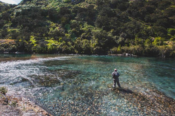 Pêche à vue sur le haut Cochrane