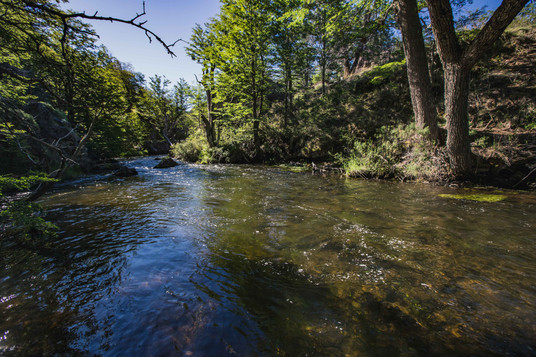 petit ruisseau perdu entre deux grands lacs.