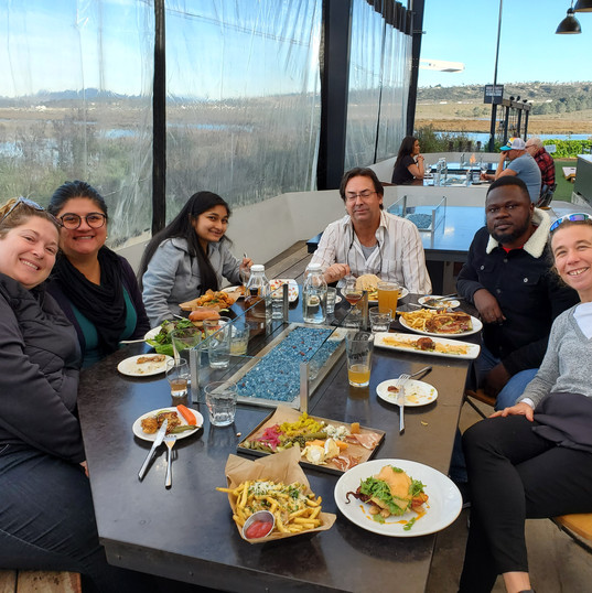 Holiday lunch at the Viewpoint Brewery (December 2019)