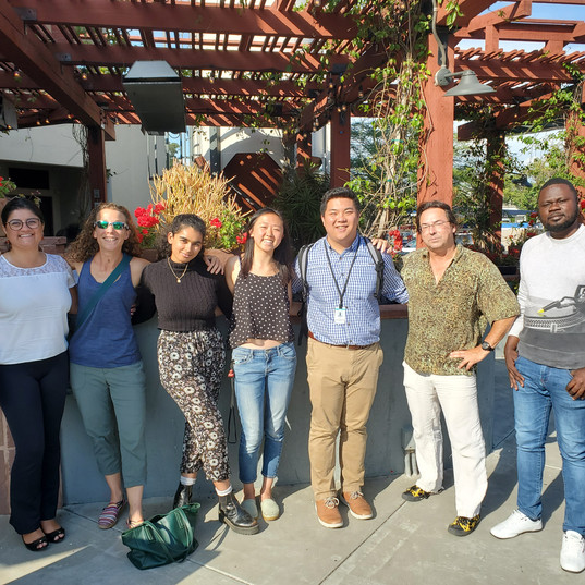 Celebrating our 3 summer interns: Tanvi, Sophia and Thao (July 2019)