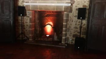 2018 - Château des martinanches, éclairage féérique