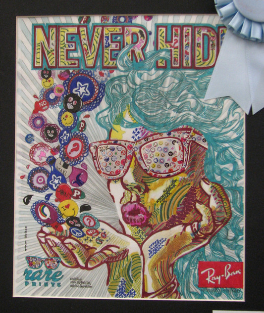 Never Hide Ray Ban