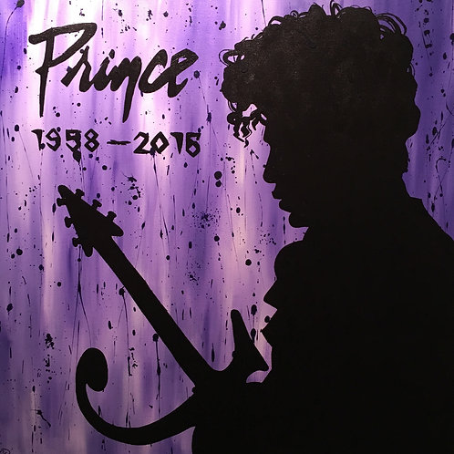"The Artist Formally Known as Prince ""Purple Rain"""