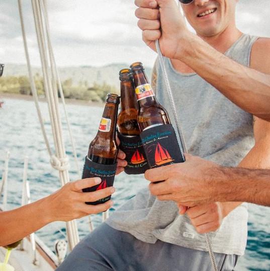 Cheers on the Sea Bird Sailboat