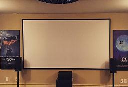 Custom home theatre room