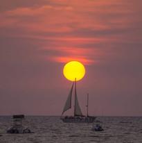 Sunset Sailing Tour in  Guancaste Costa Rica