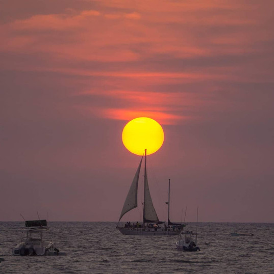 Sunset Sailing Tour in  Guancaste Costa Rica