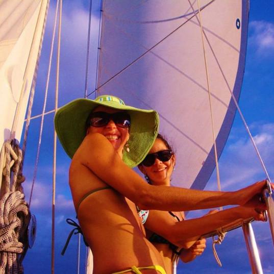Gorgeous day on the Sea Bird Sailboat!