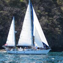 The Sea Bird Sailboat. Guanacaste Costa Rica