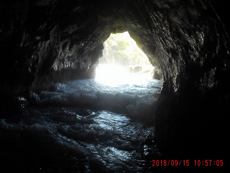 Exploring Sea Caves!!  Come explore the cave on Playa Huevos with Seabird!!