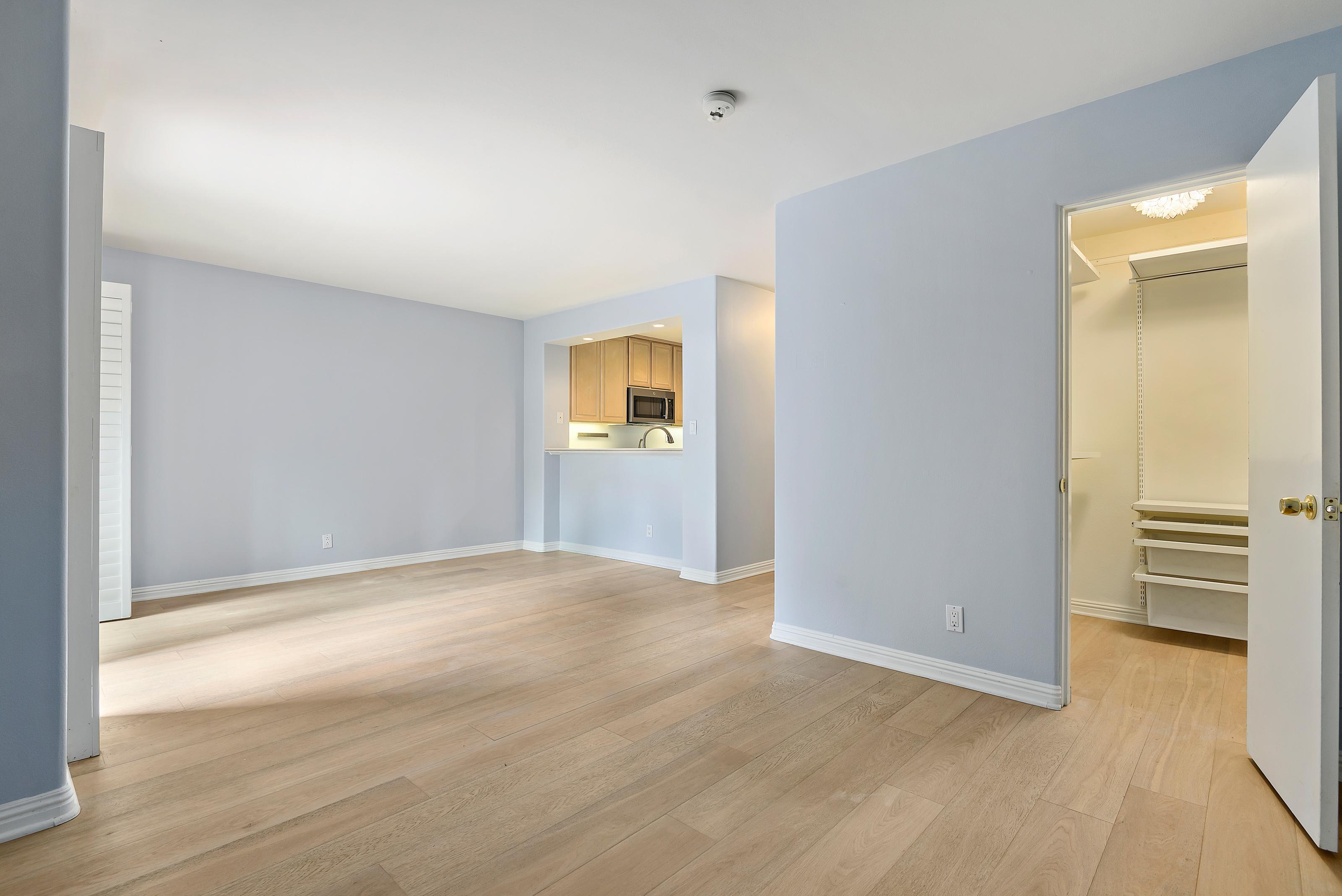 Living Area and Closet