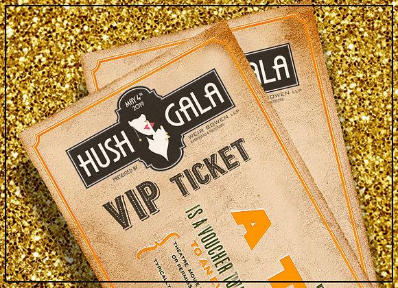 HUSH GALA - VIP Ticket