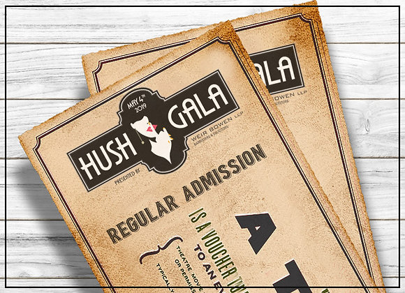 HUSH GALA - Regular Admission Ticket