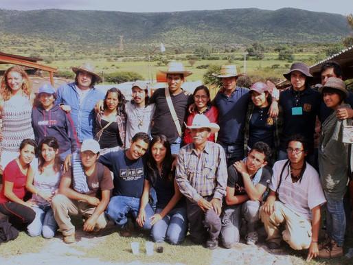 Visita guiada al Cerro de la Mesa Ahumada 2011