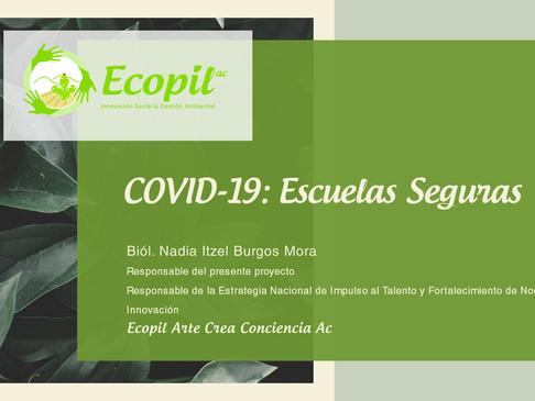 Proyecto de Ecopil propone disminuir focos estudiantiles de contagio en Apaxco