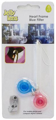 Jelly Lens Series 5-Heart Frame/Blue Filter