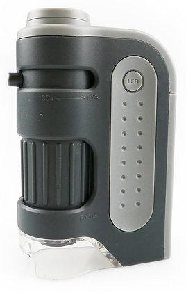 INFINOPTIX 60x-120x Pocket LED Microscope (#728U)