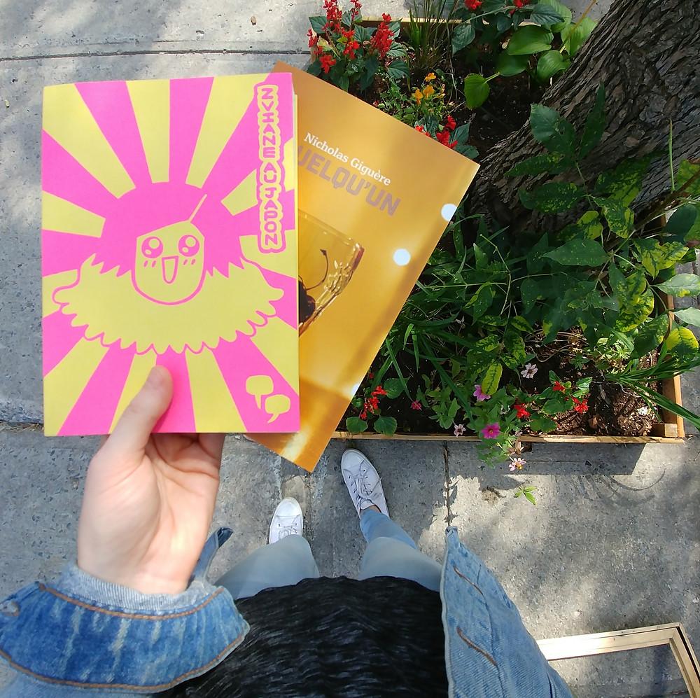 J'ai lu : Zviane au Japon de Zviane et Quelqu'un de Nicholas Giguère.
