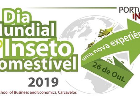 Dia Mundial do Inseto Comestível 2019