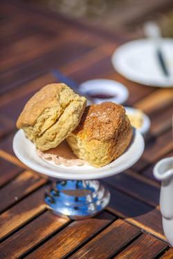 Sark cream tea