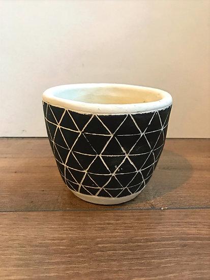 Scandi Pot-L12 x W12 x H11 cm