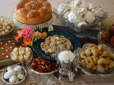 Rosh Hashanah festive sweets