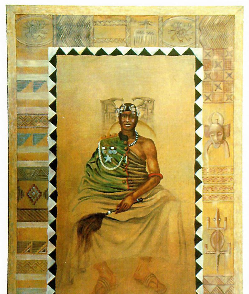 Shona Tribal Chief, 1990