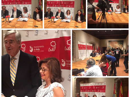 Press Conference in Madrid