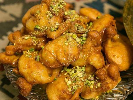 Doughnut Puffs - Bimuelos (beignets)