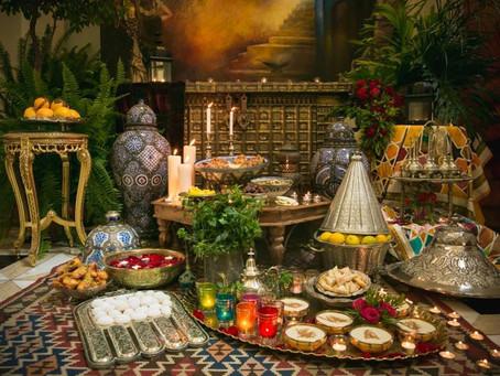 Sephardi Moroccan Festive Table