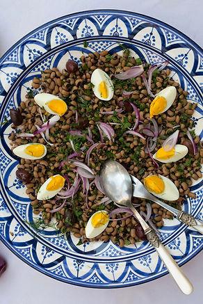 Black-Eyed Bean Salad