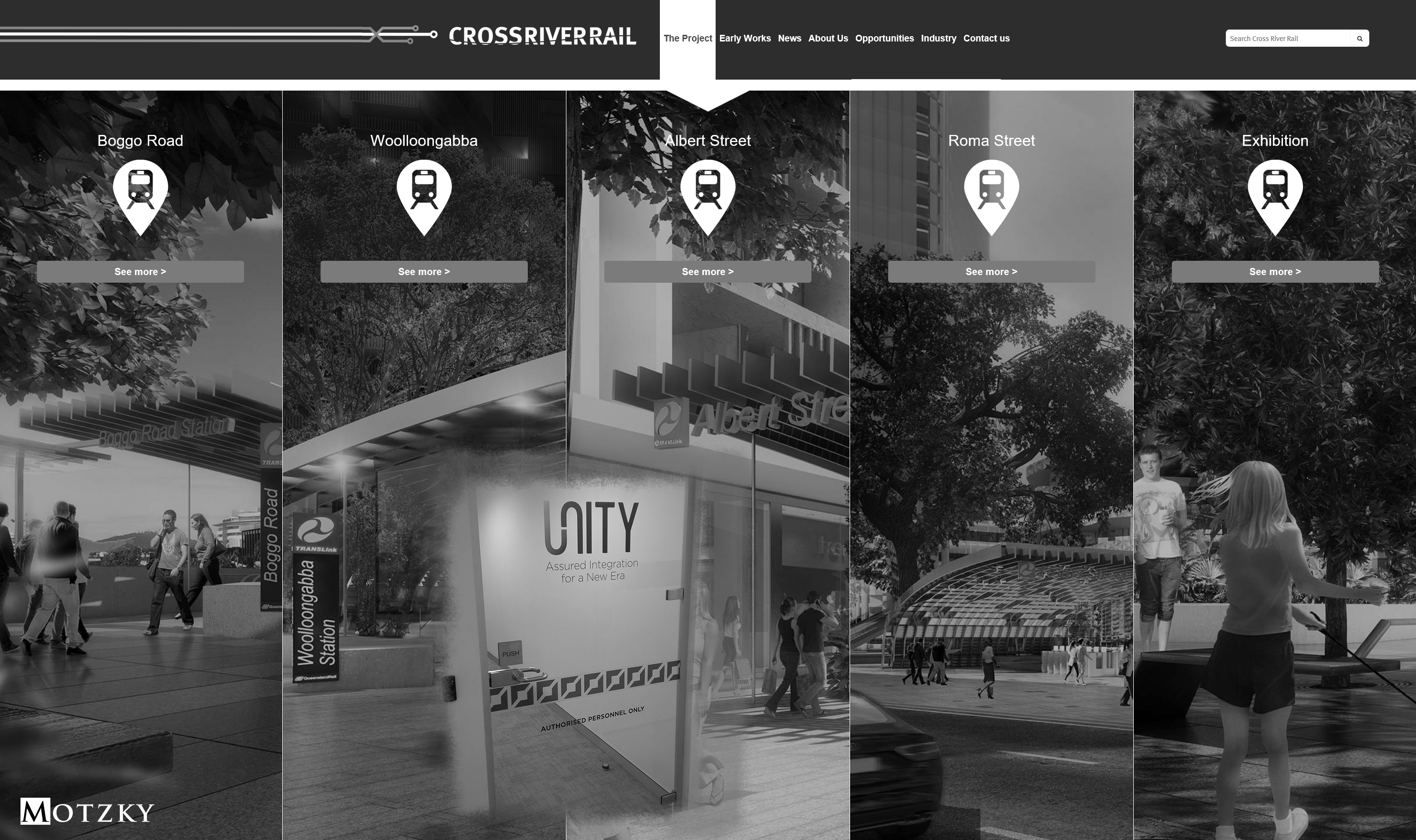 CrossRiverRail - UNITY involvement