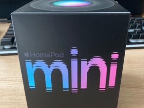 Home Pod mini購入しました。