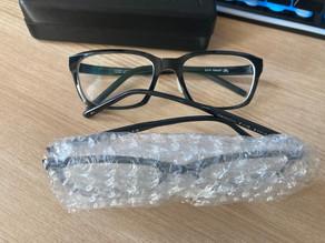 メガネ新調しました。but...