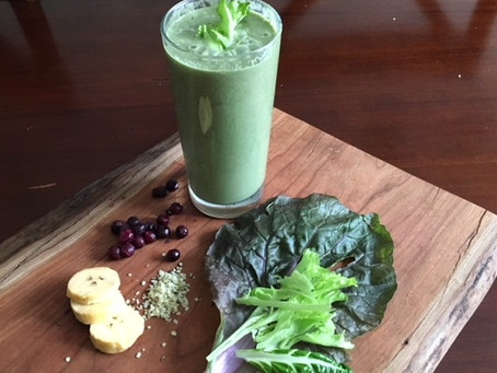 Holy Grail Intentions Smoothie