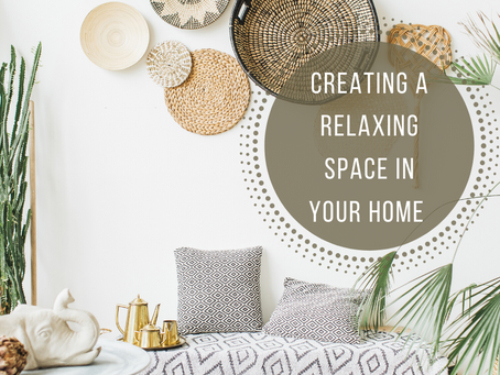 Creating a Relaxing Space in Your Home