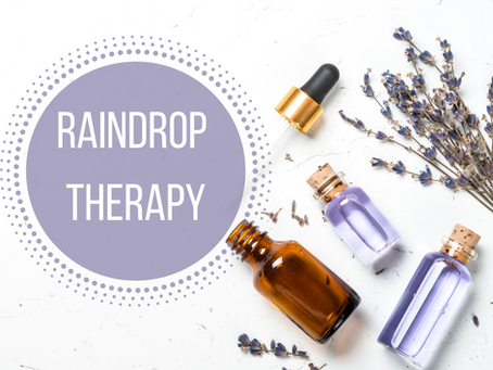 Boost Your Immunity with the Raindrop Technique