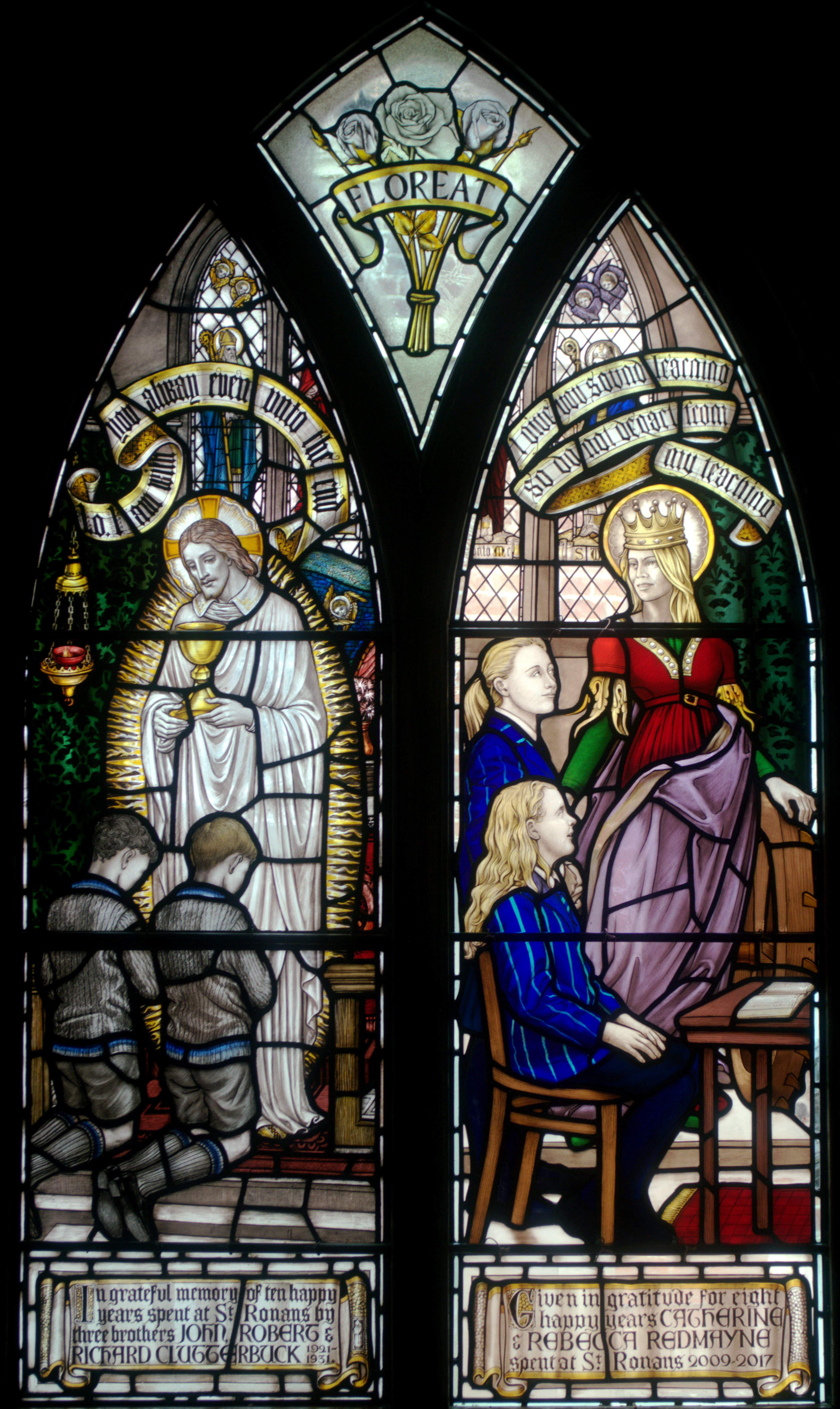 Redmayne window, St Ronan's School