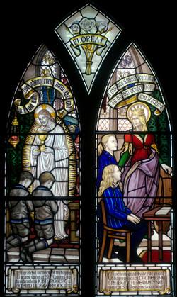 Redmayne window, St Ronan's School