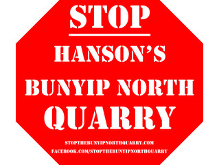 Residents refuse to give social licence for new quarry