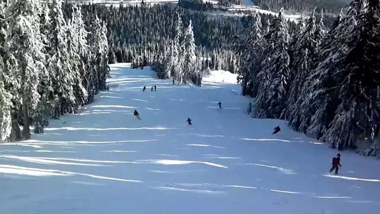 温哥华欢乐滑雪亲子团