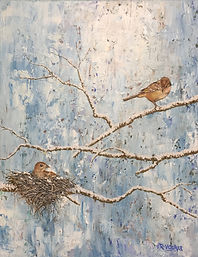Late Winter Finches