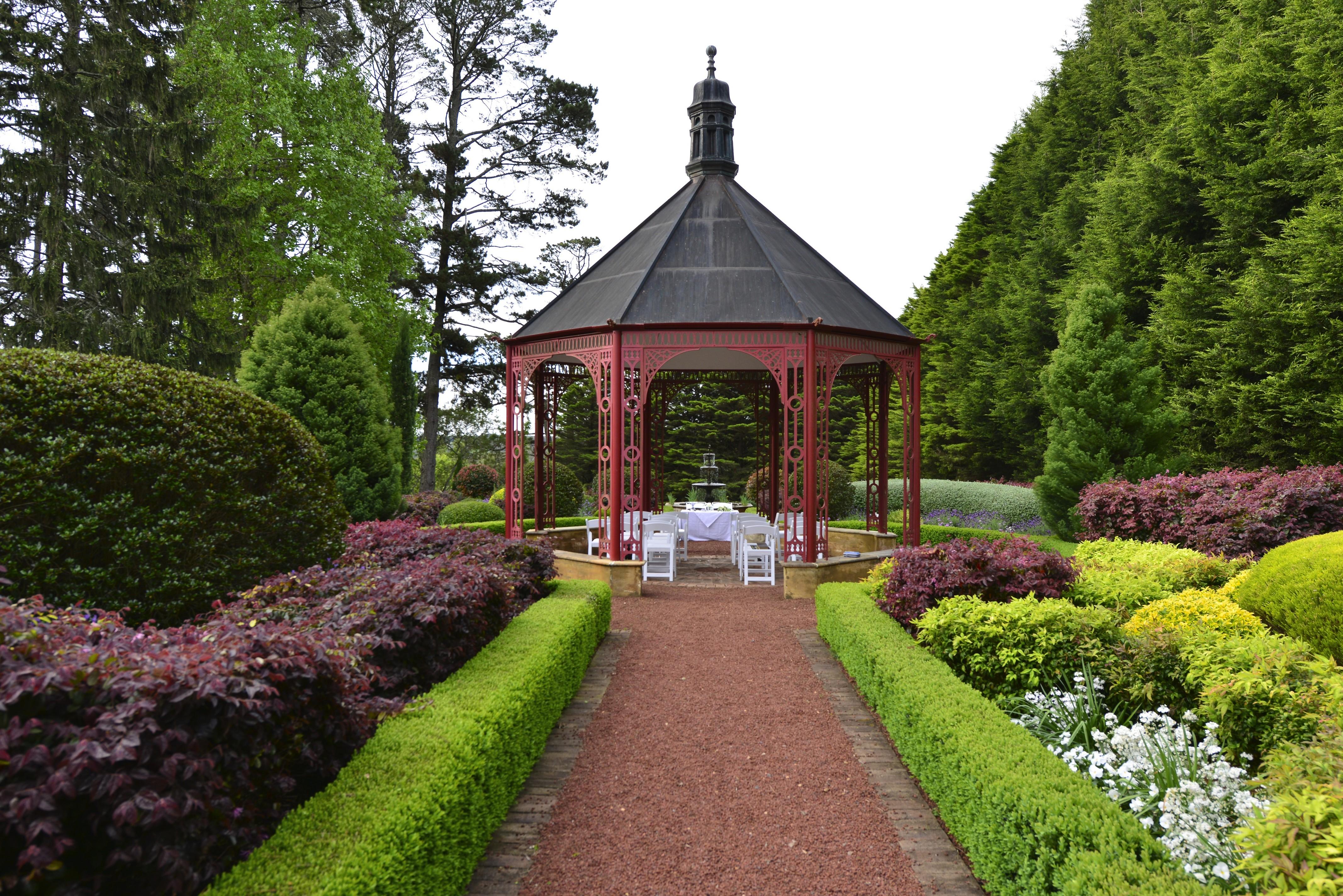 Rotunda, set for ceremony