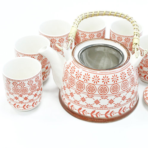 Herbal Teapot Set - Amber