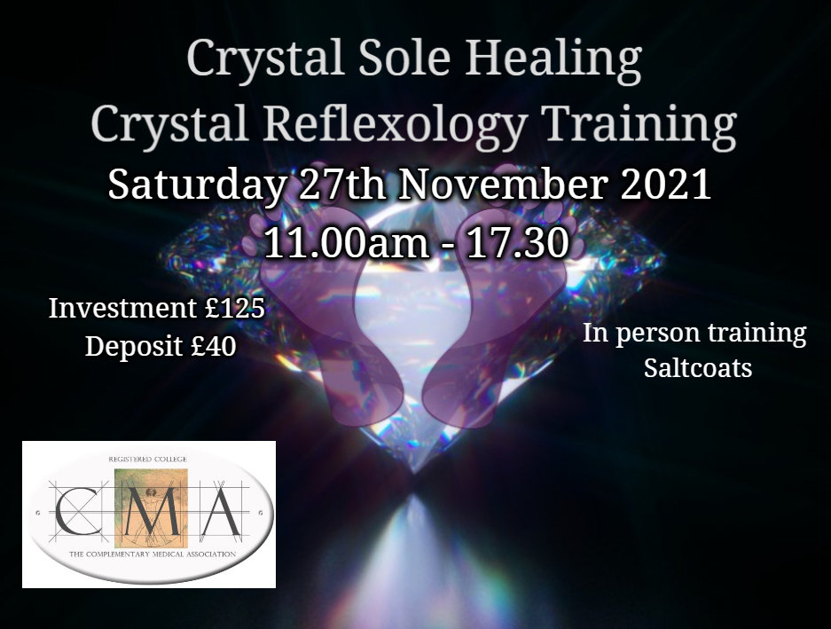 Crystal Reflexology Training in person