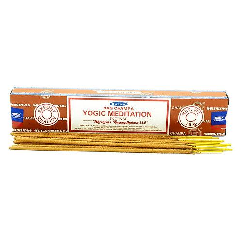 Satya Incense Sticks 15g - Yogic Meditation