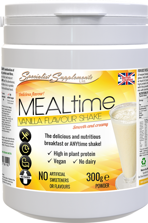 MEALtime (Vanilla Flavour)