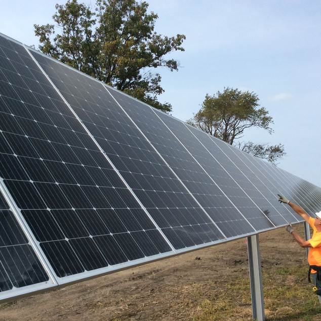 Alden Road Solar Farm