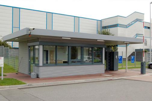 RVV - Pförtner- und Wachgebäude