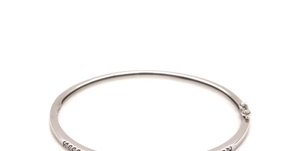 14KW Diamond Bangle Bracelet